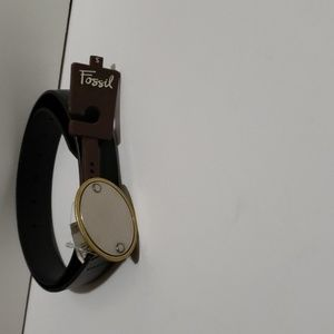 Fossil leather Belt Small